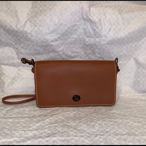 Coach Leather Dinky